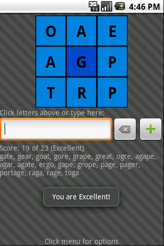 wordcube screenshot 2