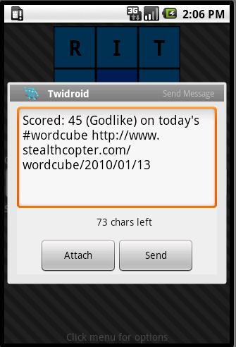 twidroid intent screenshot