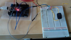 Arduino LED switch circuit off