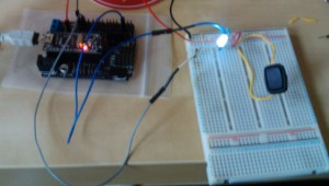 Arduino LED switch circuit on