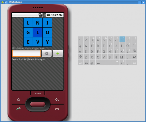 android medium screen wordcube