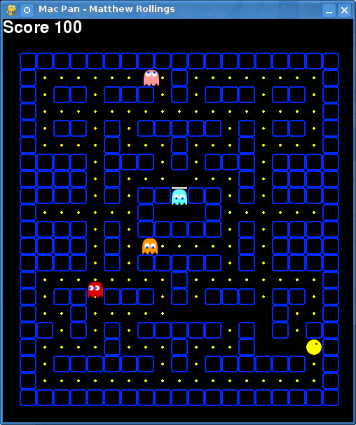 advancing pyman using python�s pygame to recreate pacman