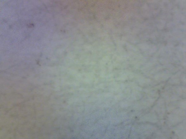 Magnified image of paper