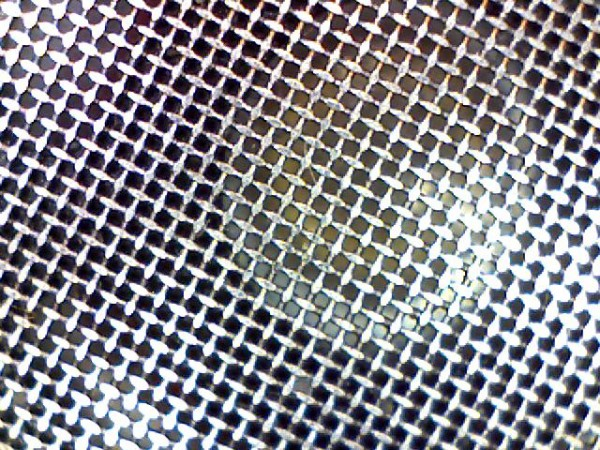 Magnified image of a headphone