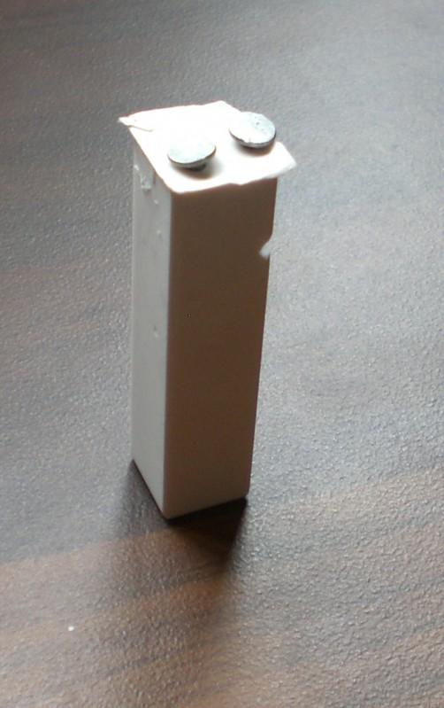 Plaster of paris humidity sensor