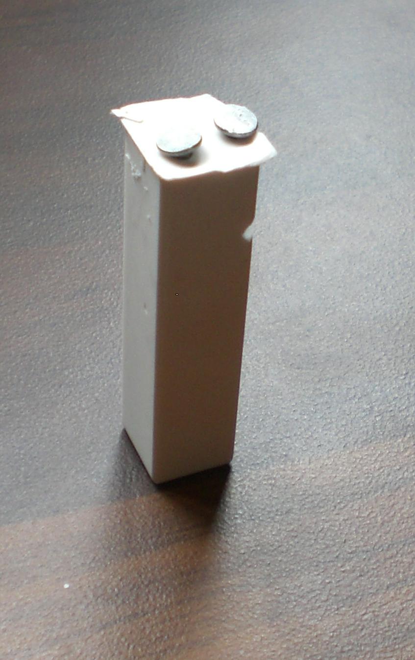 Plaster of paris soil moisture sensor