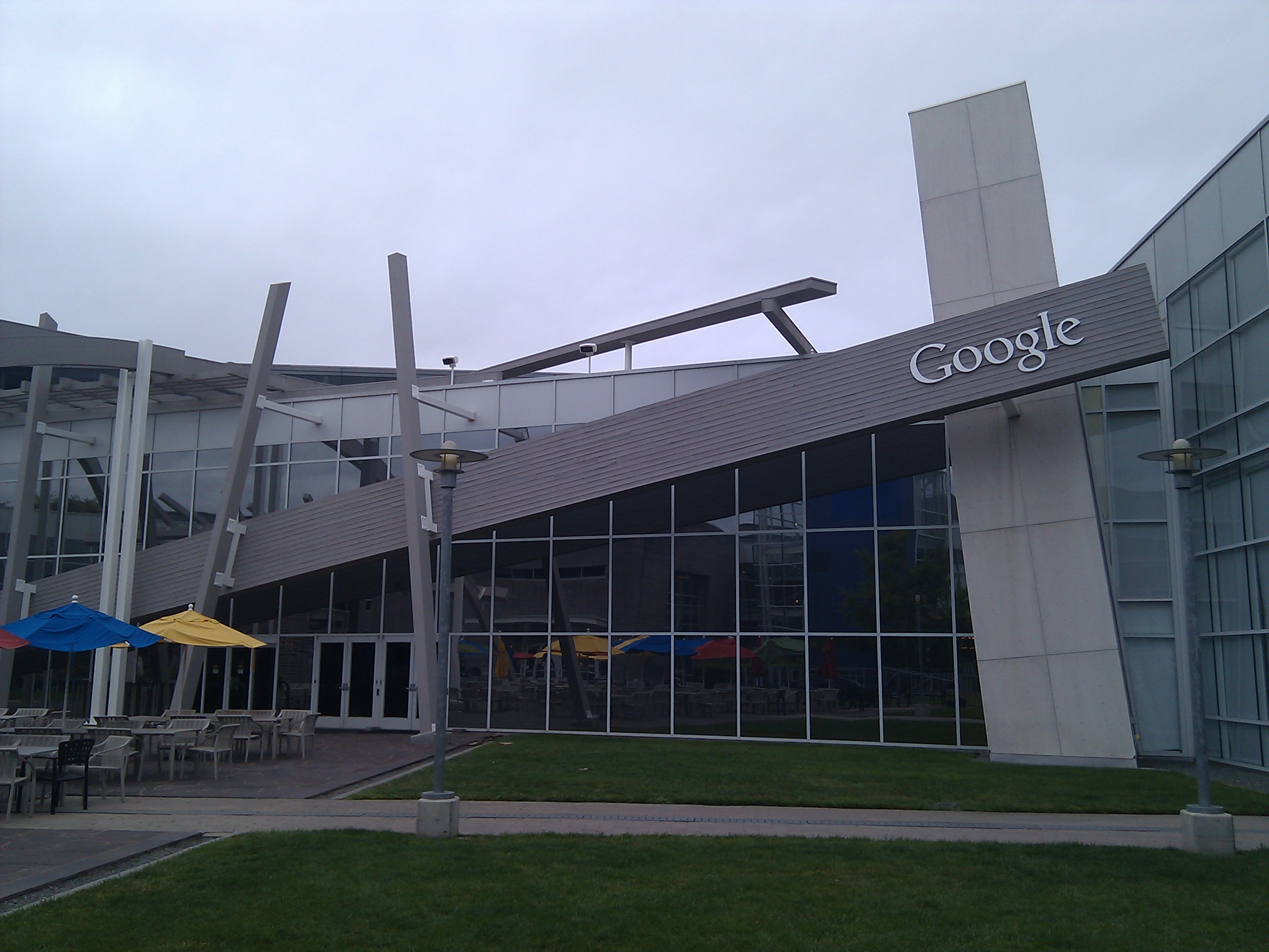 Google Building Stealthcopter