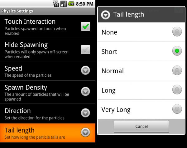 Nexus Revampe Pro Update - Tail length