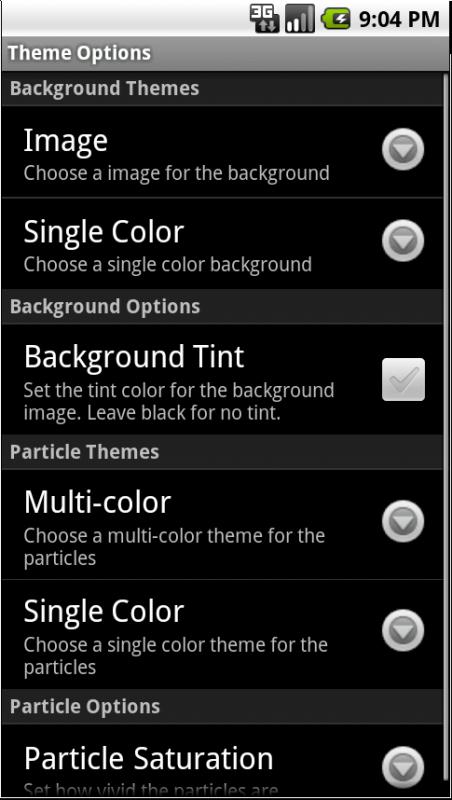 Nexus Revampe Pro Update - Theme settings
