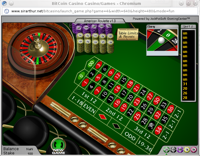 Rigged and Broken roulette game on bitcoin casino