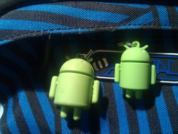 Comparison of old and new android keyrings