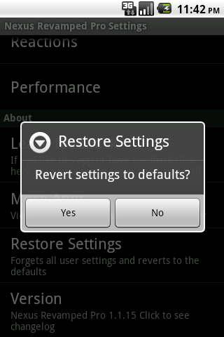 Don't worry about experimenting with settings you can always reset