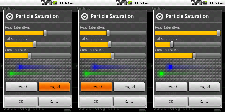 New saturation options in nexus revamped pro