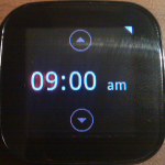 12hr clock (select sets alarm)